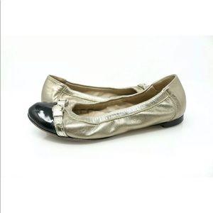 Attilio Giusti Leombruni AGL Ballet Flat Cap Toe